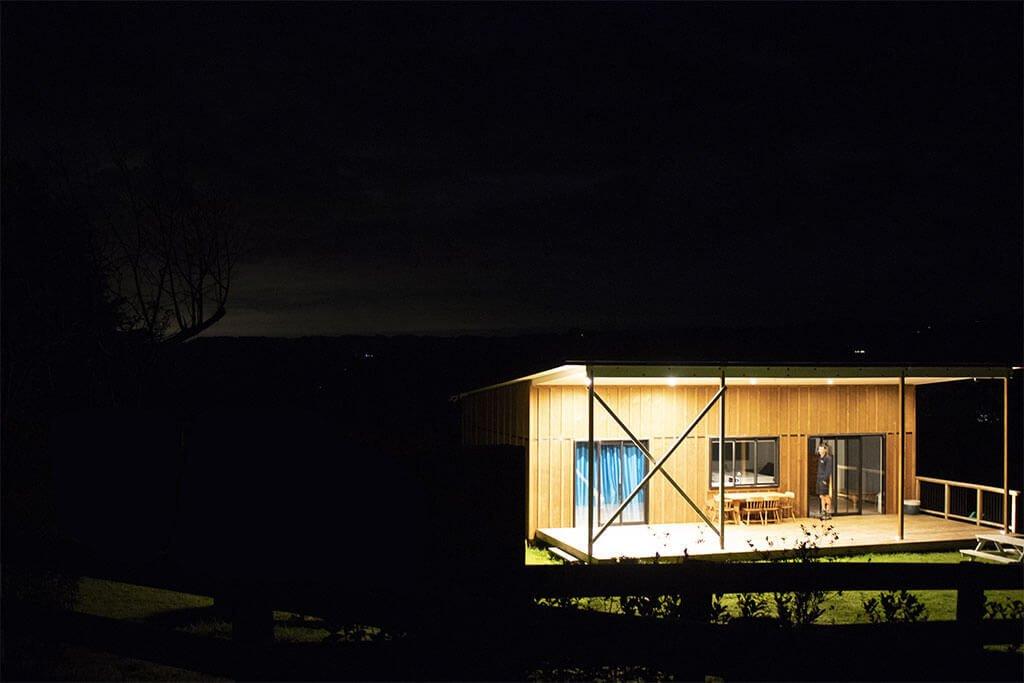 Barn-style house lighting