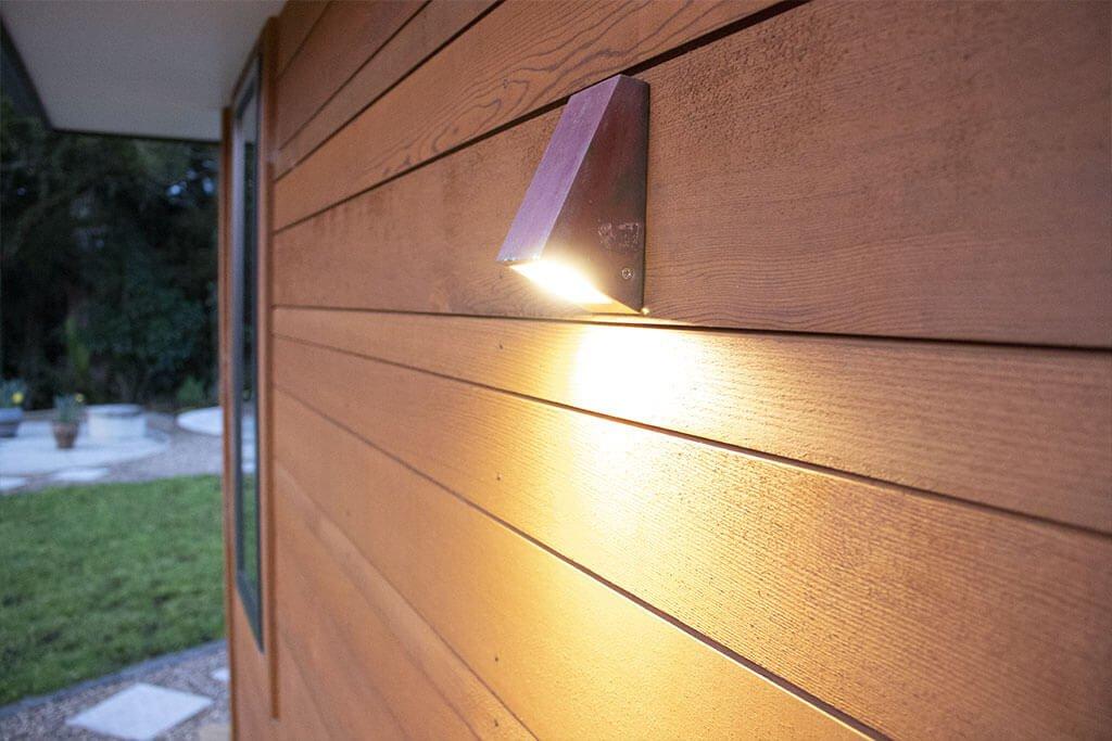External outdoor wall lighting
