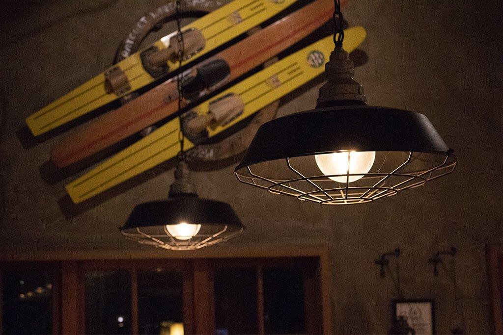 Hanging rustic pendant lights