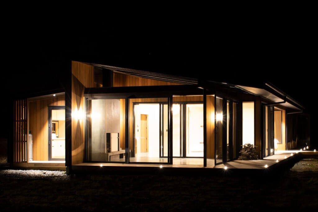 Internal house lighting from outside