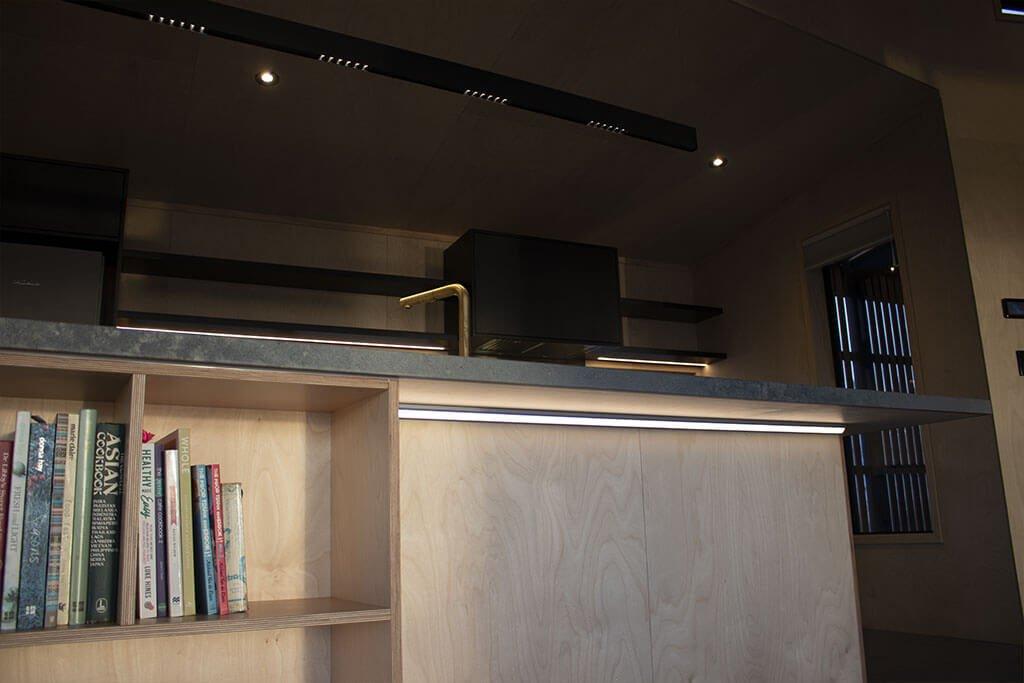 Kitchen under bench lighting